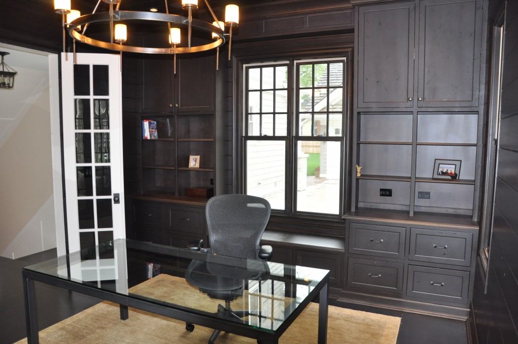 Elegant home office cabinets by graber - Elegant office home design ...