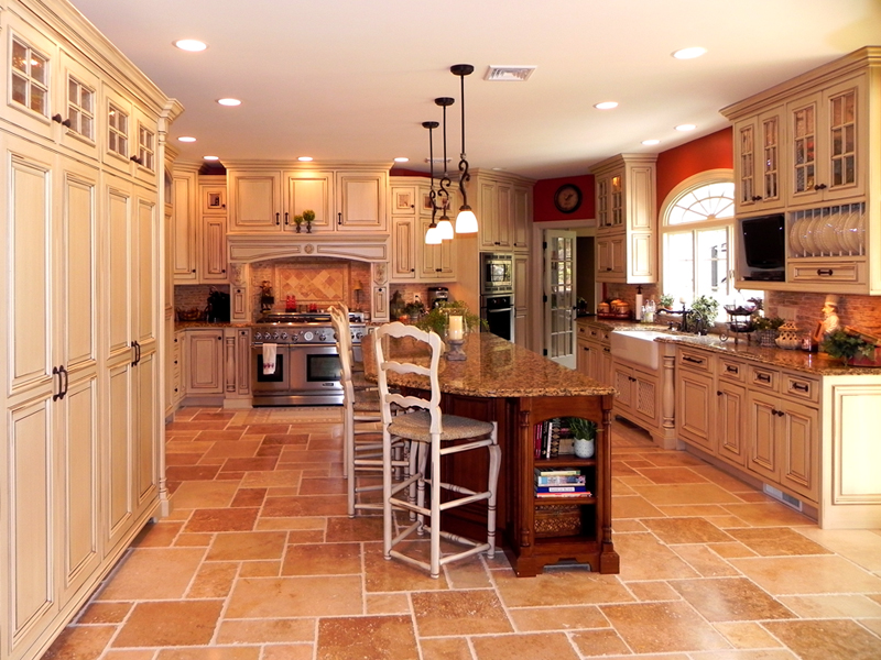 Tuscan inspired kitchen cabinets by graber for Inspired kitchen design