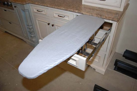 Fold Out Ironing Board Cabinet Rev A Shelf Fold Out