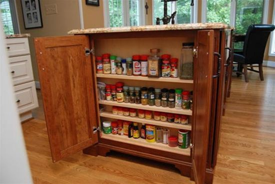 Shallow Spice Rack
