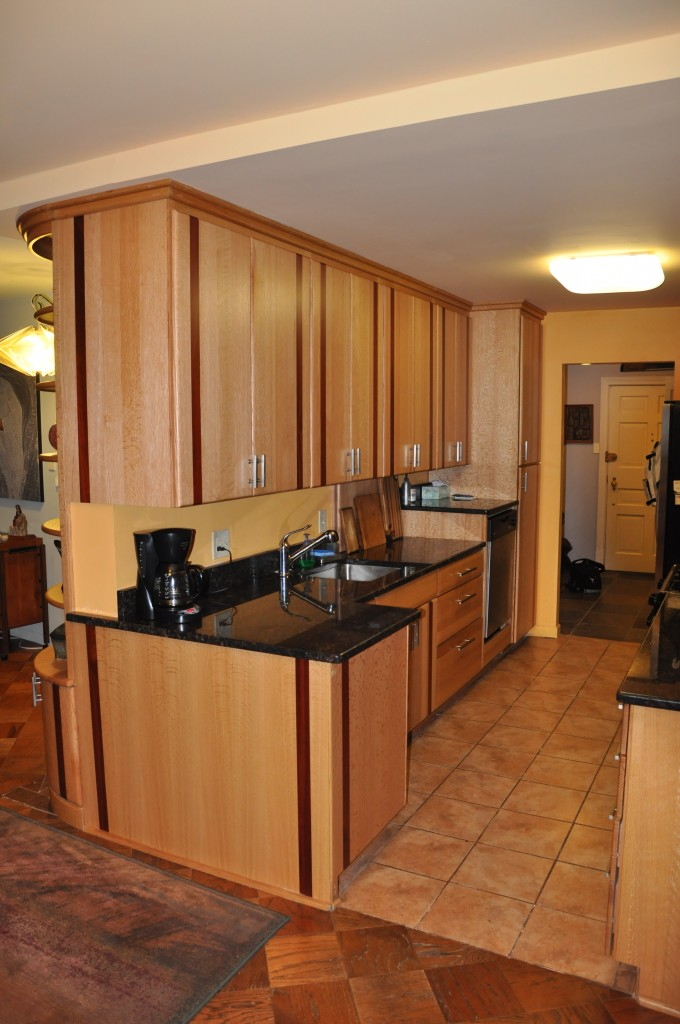 Custom appliances and custom built ins cabinets by graber for Small built in kitchen