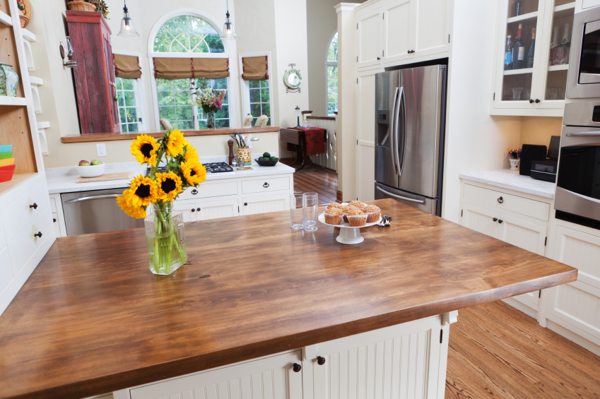 how to care for your butcher block countertops cabinets