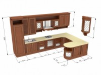 Interior kitchen Layout