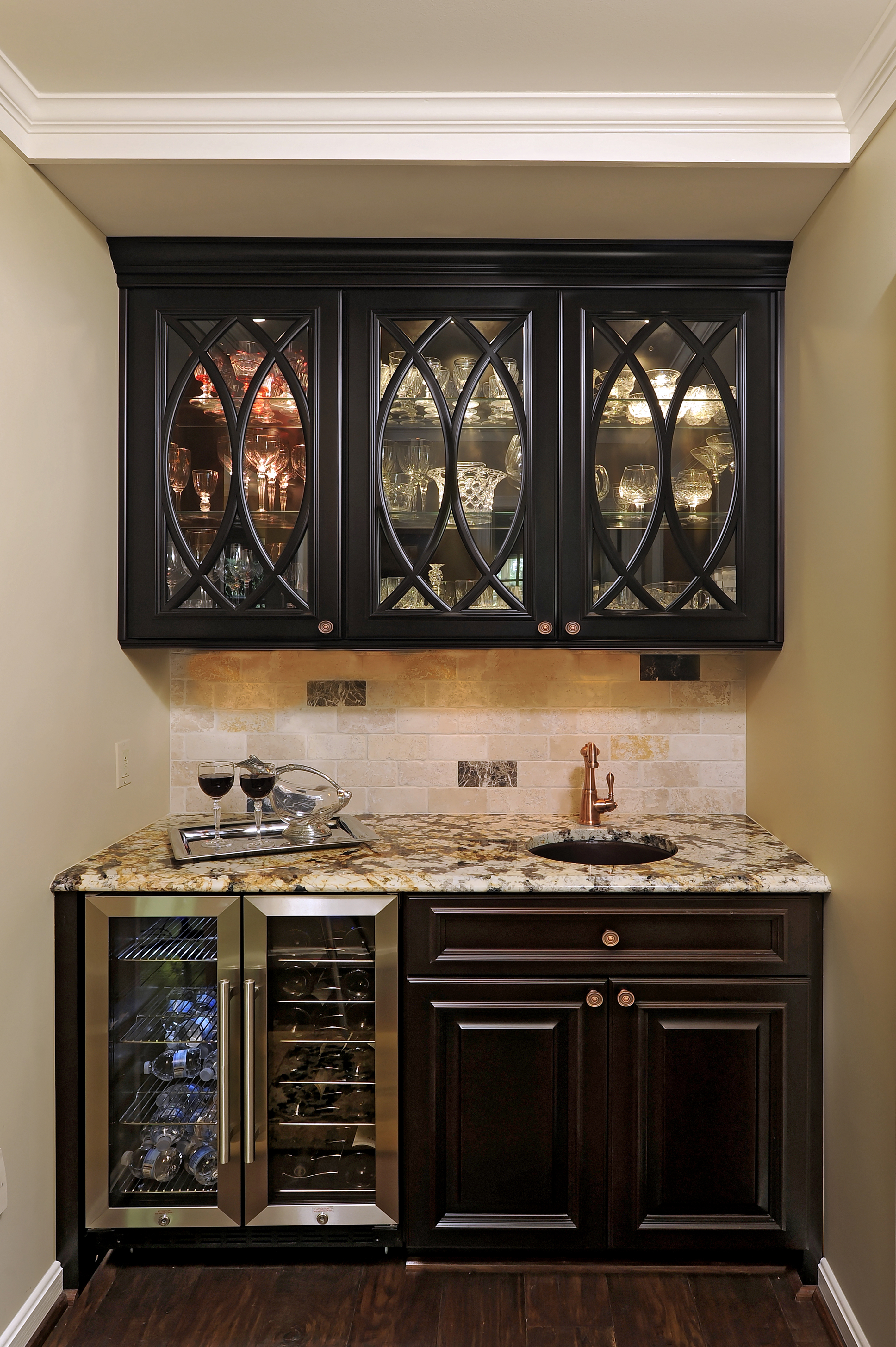 Old World Kitchen - Cabinets by Graber