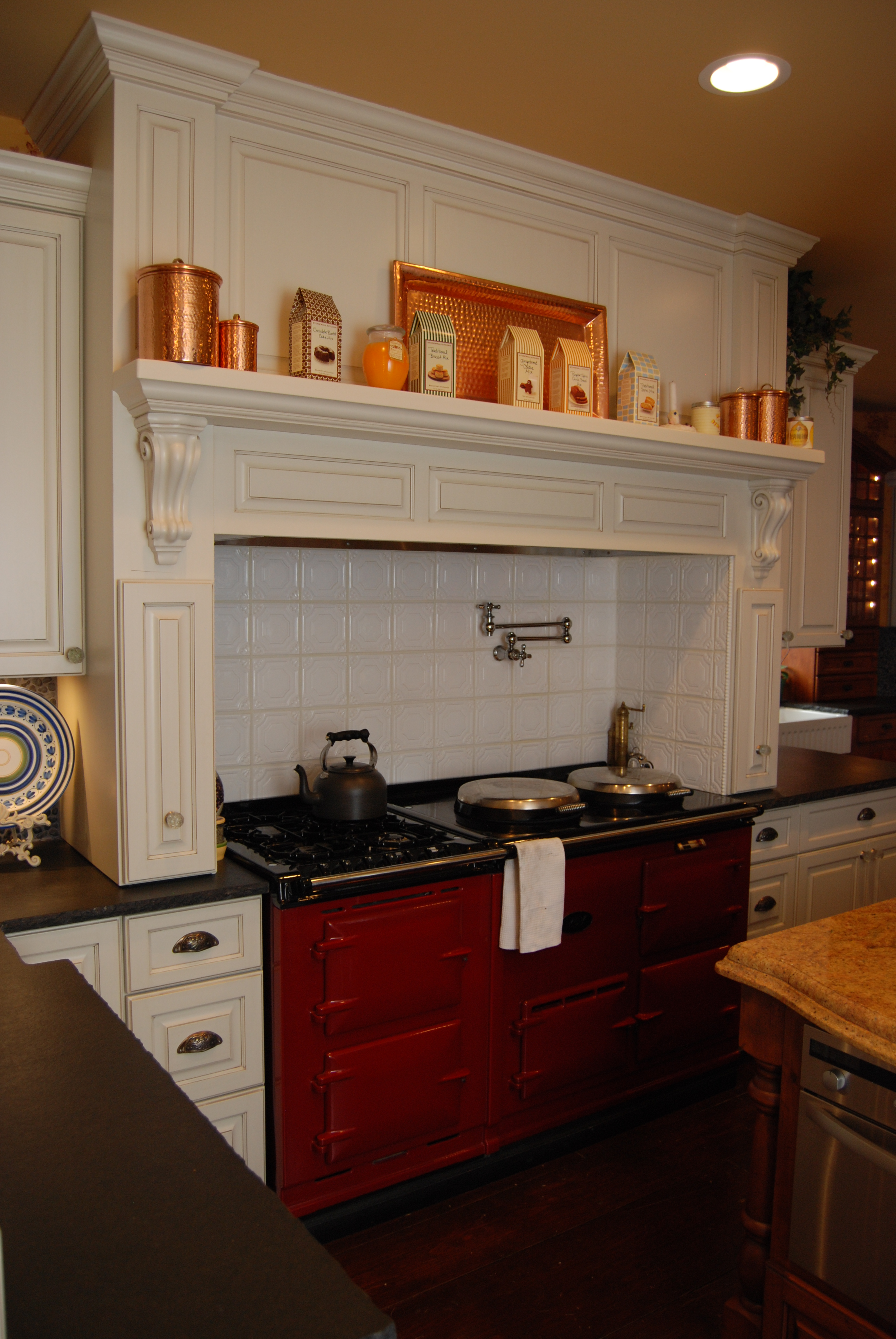 Custom Kitchen Hoods - Cabinets by Graber